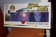 Star Trek Next Generation Interactive VCR Board Game 'A Klingon Challenge'