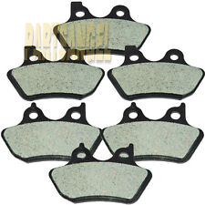 Front Rear Carbon Brake Pads For 2000-2007 Harley FLHTCUi Electra Glide Classic