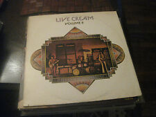 Cream; Live Cream Volume II on LP