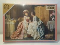 Falcon Gallery de Luxe 1000 Piece Jigsaw Puzzle No. 3673 Sharing Confidences Art