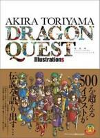 Akira Toriyama Dragon Quest Illustrations Book JAPAN Design Art Works F/S NEW