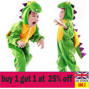 Kids Toddler Dinosaur Costume Girls Boys Book Week Day Fancy Dress Outfda