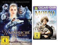 2 DVDs *  DIE UNENDLICHE GESCHICHTE +  MOMO IM SET - Michael Ende # NEU OVP =/