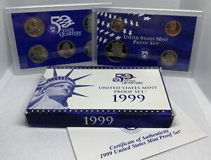 1999 (S) U.S Proof Set w/ OGP & COA