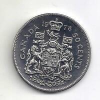 1978 Canadian Half Dollar