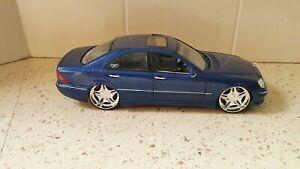 1:18 Maisto S55 AMG Mercedes-Benz Custom