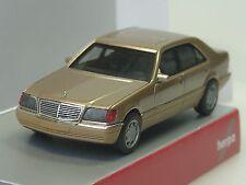 Herpa Mercedes S-Klasse V12 (W140), champagner-met. - 038775 - 1/87