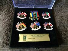 1996 Olympic Games collectors Pin Set-6 pins-WELCOME THEME!