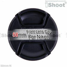 58mm NEU Objektivdeckel Frontdeckel für Nikon AF-S Linse