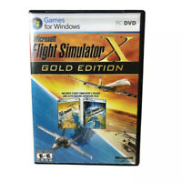 Microsoft PC Flight Simulator X: Gold Edition W/Expansion Pack Complete 3 Discs