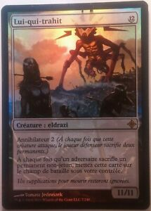 Lui-qui-trahit PREMIUM / FOIL VF - French It That Betrays - Magic mtg