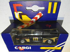 Ford Capri 3 Corgi Zakspeed Capri Nr. 52 Schwarz / Gold  Original Verpackt  J57