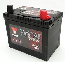 Yuasa U1R Gartengeräte Batterie 12V 30AH Rasenmäher Rasentraktor Aufsitzmäher