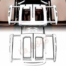 Chrome Adjustable Two-Up Luggage Rack For Harley Street Glide 09-15 16 17