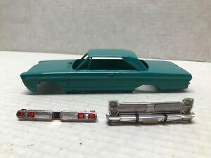 VINTAGE ORIGINAL 1/25 SCALE JOHAN 1966 PLYMOUTH FURY SLOT CAR BODY JUNKYARD