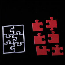 Puzzle Metal Cutting Dies Stencils For Scrapbookings DIY Cards Crafts EmbossRCUS