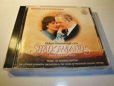 Shadowlands by George Fenton Original Soundtrack OST CD Angel Records 1994