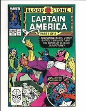 CAPTAIN AMERICA # 357 (The BLOOD STONE HUNT Part 1, SEPT 1989), NM-