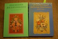 2 Bücher Bauernmalerei, Möbelmalerei, Bauernmöbel, Bauernstuben, Holzmalerei