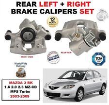 hinten links + rechts Bremssättel für Mazda 3 BK 1.6 2.0 2.3 MZ-CD MPS 2003-2009