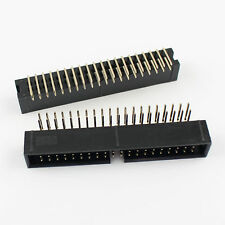 20Pcs 2.54mm 2x20 Pin 40 Pin Right Angle Male Shrouded IDC Box Header Connector