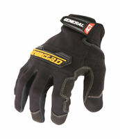 Ironclad  Black  Universal  Medium  Synthetic Leather  Utility  Gloves