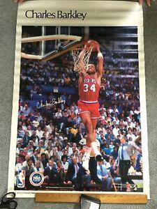 Charles Barkley Philadelphia 76ers Vintage Sports Illustrated SI Poster UNUSED!