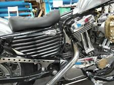 Harley-Davidson Ribbed Side Covers Batterie Öltank Seitendeckel  Sportster ab 04