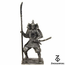 Tin Toy SOLDIER 54mm JAPANESE Samurai WARRIOR Medieval JAPAN Metal Tin Figure