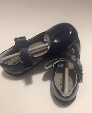 New UMI Black Patent Calie Girl Shoes  Size 24/8 us