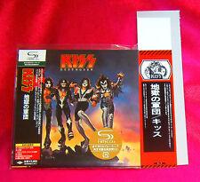 Kiss Destroyer SHM MINI LP CD + DISC UNION PROMO OBI JAPAN UICY-93655