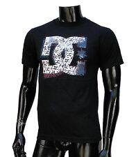 Dc shoes Usa Team Skateboard Doble Stamp Classic mens Black t shirt Small