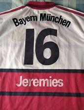 Camiseta Trikot Shirt BAYERN MÜNCHEN Munich Adidas 16 JEREMIES Size XL 1999/2000
