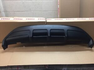 Ford Fiesta MK7 Zetec S Rear Bumper Diffuser 09 On 3 Door Gpr F G