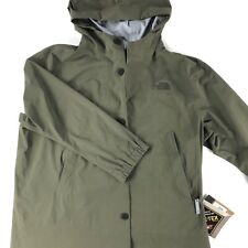 NWT The North Face GoreTex Transverse Rain Jacket Mea. Men's 2XL Tagged L Green
