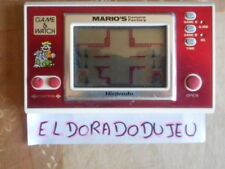 ELDORADODUJEU > JEU LCD NINTENDO GAME & WATCH : MARIO' CEMENT FACTORY