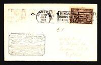 Canada 1929 FFC - Kingston to Toronto - Z16703