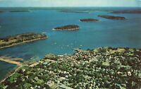 Postcard Bar Harbor Mt Desert Island Maine