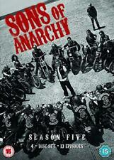 Sons of Anarchy - Season 5 [DVD], Good DVD, Maggie Siff, Mark Boone Junior, Kate