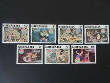 Walt Disney's Snow White and the seven dwarfs mint stamp set dated 1980.