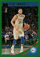 2018/19 LIMITED DONRUSS GREEN BEN SIMMONS #59 NBA BASKETBALL CARD