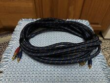 New listing AudioQuest Cq Cinema Quest 25 ft. Component Video Cable Y1Q-1