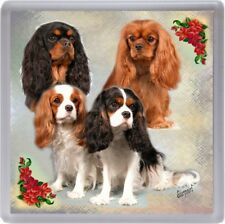 Cavalier King Charles Spaniel Coaster No 1 by Starprint
