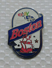 2006 eBay Live Las Vegas  Promotional Pin for 2007 Boston Enamel Silver 2""