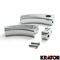 "4.5"" Chrome Bike Handlebar Pullback Risers 7/8"" For Yamaha YZFR1 R1S YZF R1"