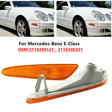 Side Marker Light Front Bumper Turn Signal Lamp For Mercedes Benz W211 E-Class
