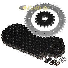 Black O-Ring Drive Chain & Sprockets Kit For HONDA VFR800F VF1000F VF1000R
