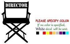 """Movie Director Chair Vinyl Decal Sticker Car Sticker truck Window laptop 12"""""""