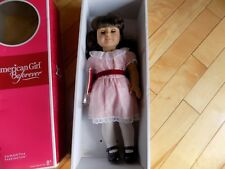"American Girl 18"" Samantha Parkington Doll Brown Hair Eyes Lt Skin Beforever"