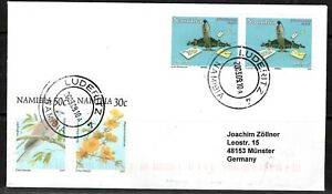 Namibia Cover - Luderitz 4 - 10.09.2003 Boeing 747